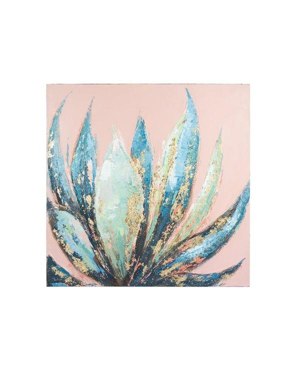 Peinture à l'huile d'aloès
