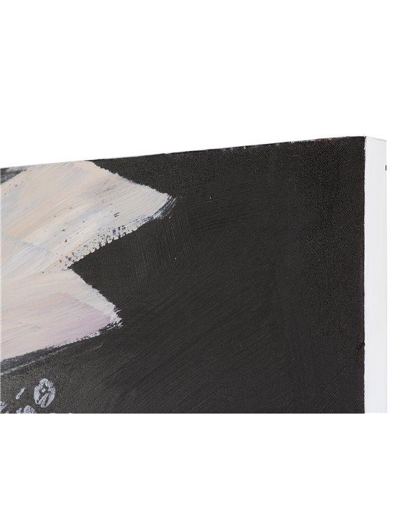 Set 2 cadros óleo muller
