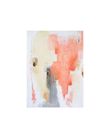 Koraal olieverfschilderij