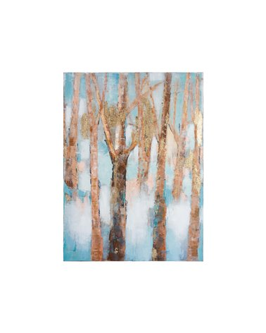 Branches oil painting
