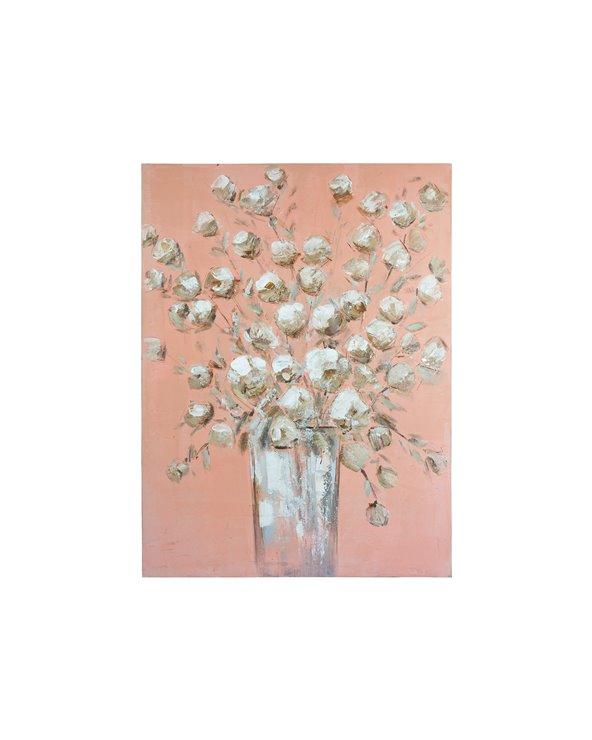 Obraz olejny wazon