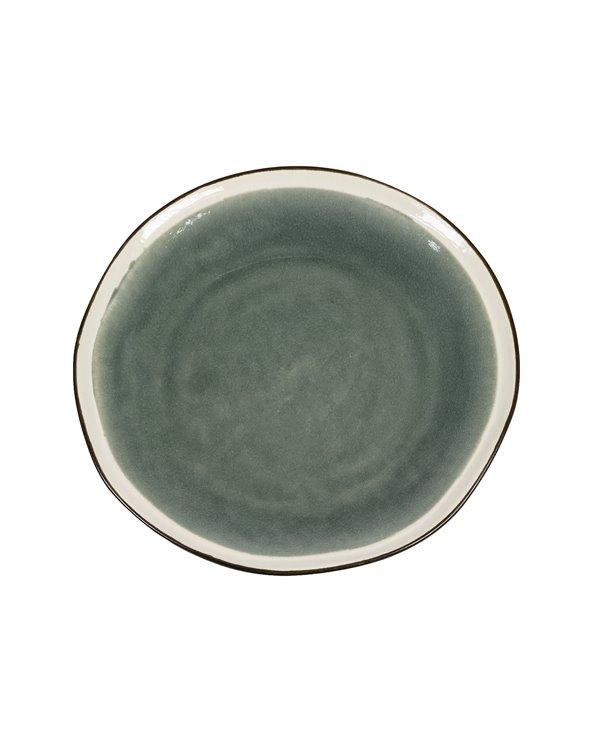 """Dinner plate """"Origin"""" gray"""