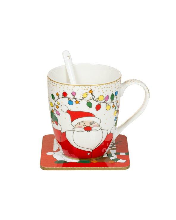 Taza cuchara Noël
