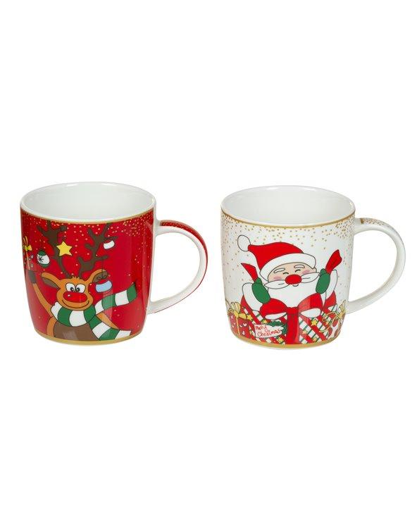 Conjunto de 2 canecas Noël