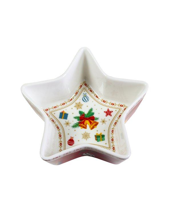 Christmas ornaments bowl