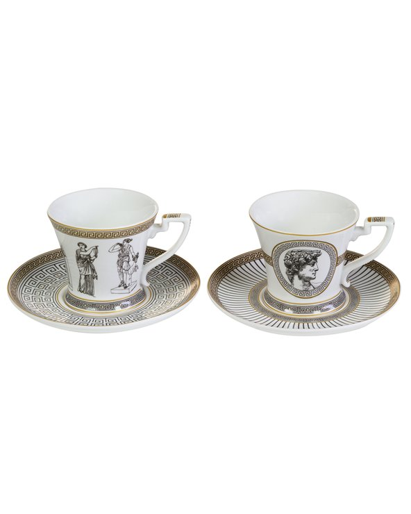 Set 2 tasses amb plat Paladium
