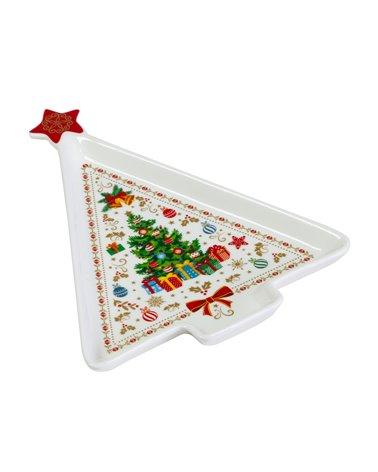 Christmas tree plate