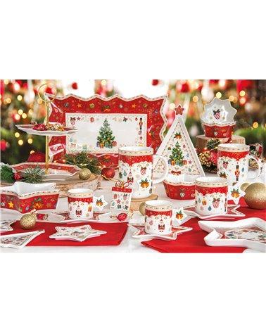Plato árbol Navidad