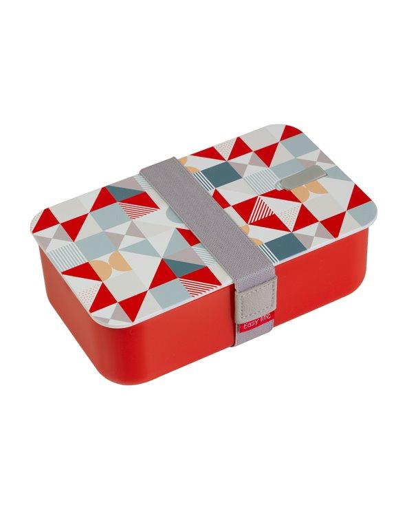 Boîte à lunch rouge Geo
