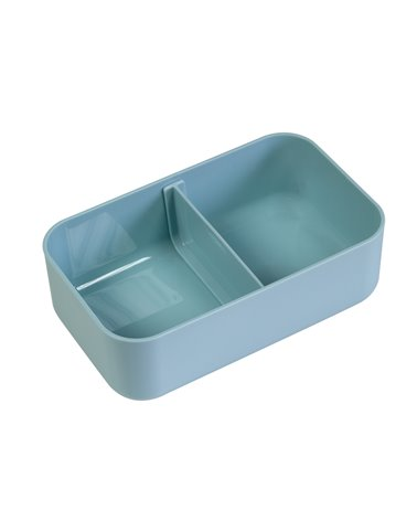 Blue Geo lunch box