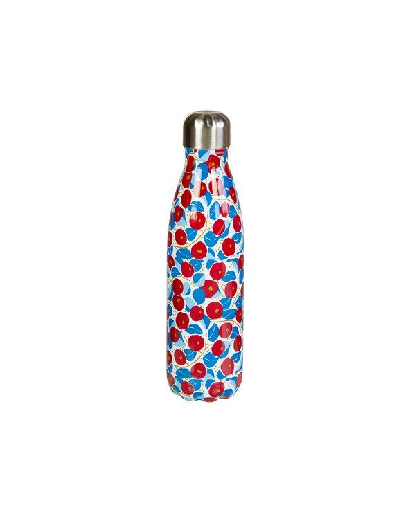 Bottiglia in metallo fiore 500 ml