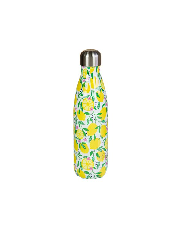 Lemon metal bottle 500 ml