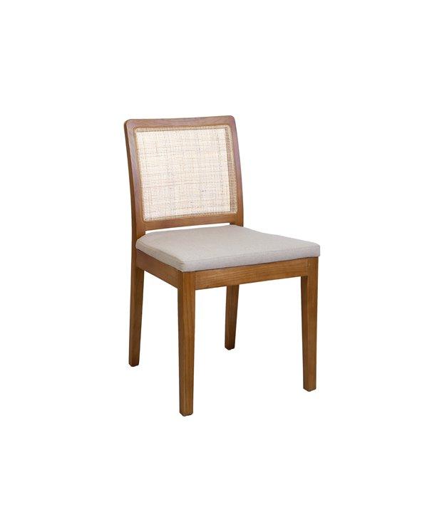 Cadira natural reixeta