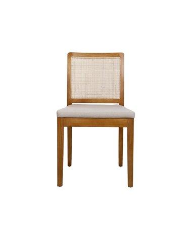 Grid chair - NATURAL