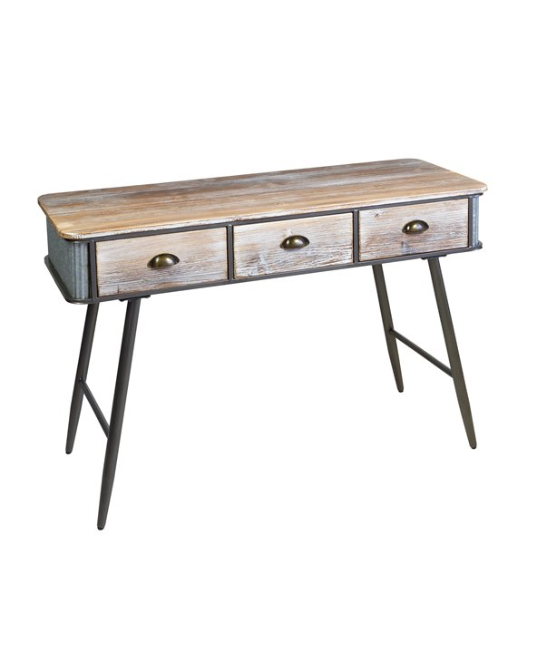Console table with 3 drawers FUR