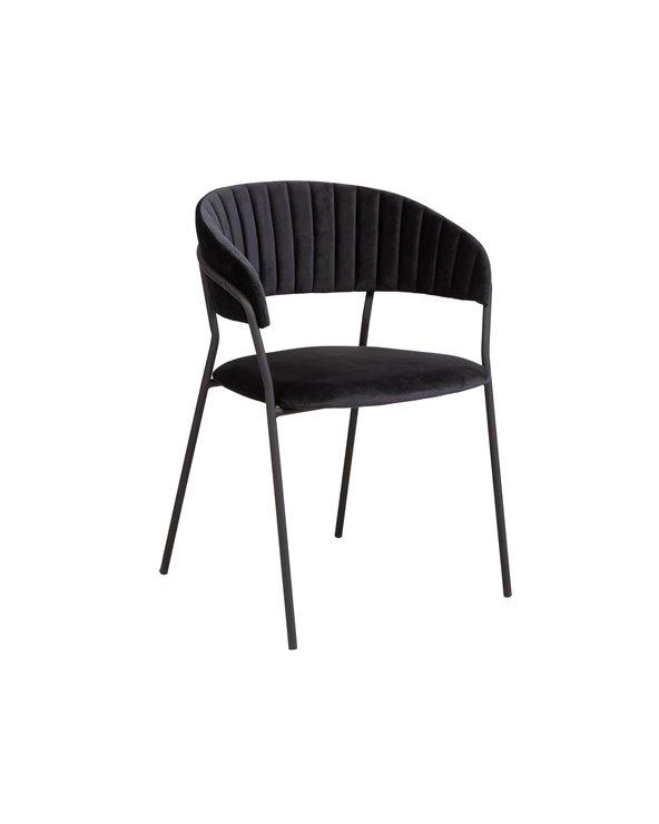 Svart Turin stol