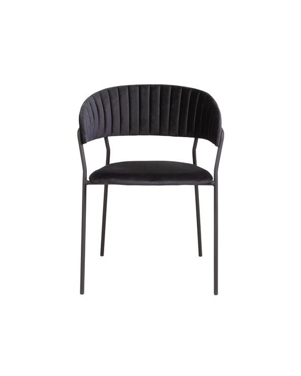 Black Turin chair