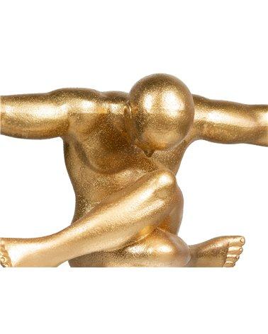 Figura bola oro grande