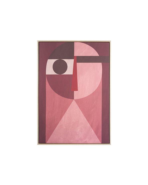 Face abstrakt målning