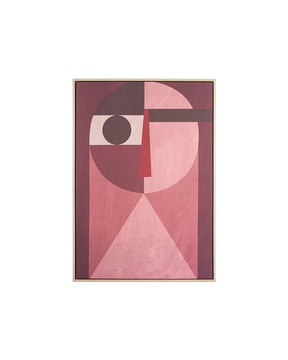 """Peinture abstraite """"visage"""""""