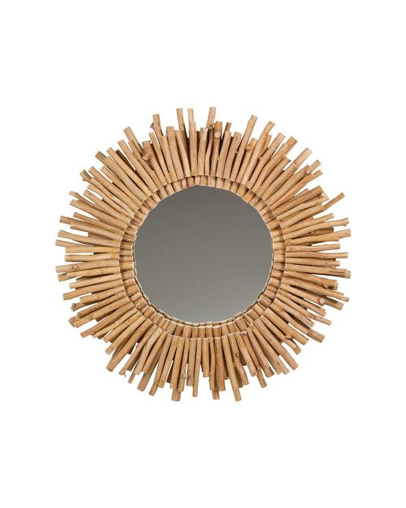Malles de miroir rond