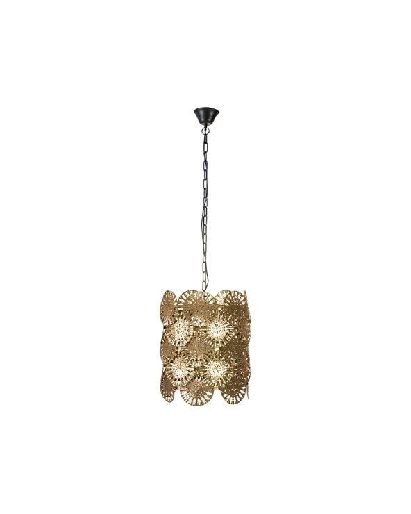 Lámpada de teito oro