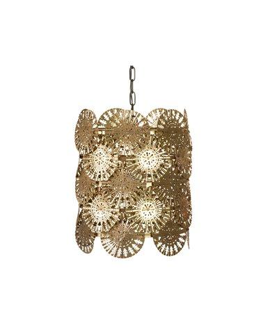 Lámpara de techo oro