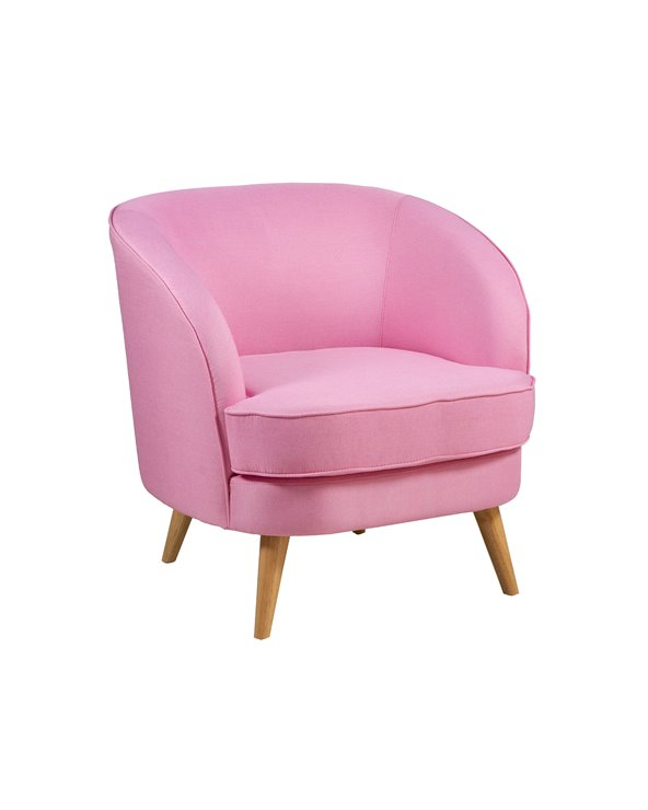 Fotel BAG różowy