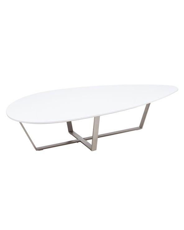 Oval matbord