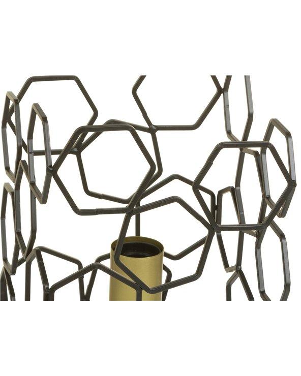 Lámpada de mesa metal