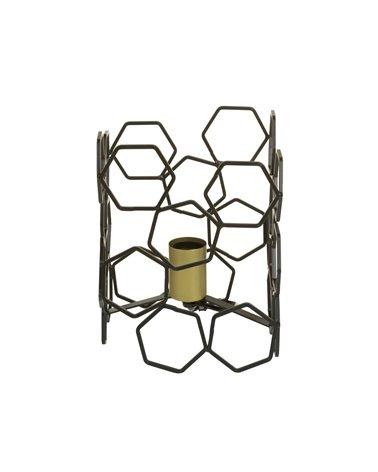 Lámpara de mesa metal