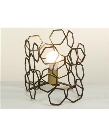 Llum de taula metall