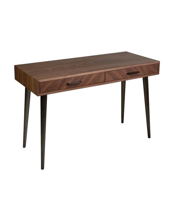 Brauner moderner Schreibtisch