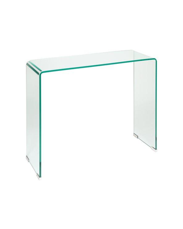 Consola de cristal Bend