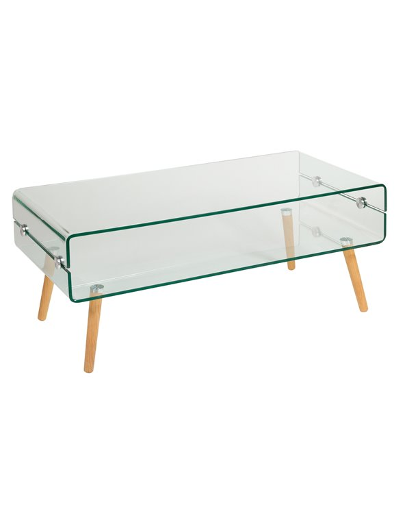 Mesa de centro de vidro BEACH