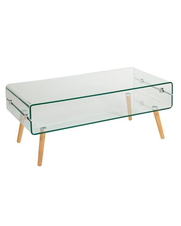 Table basse en verre BEACH