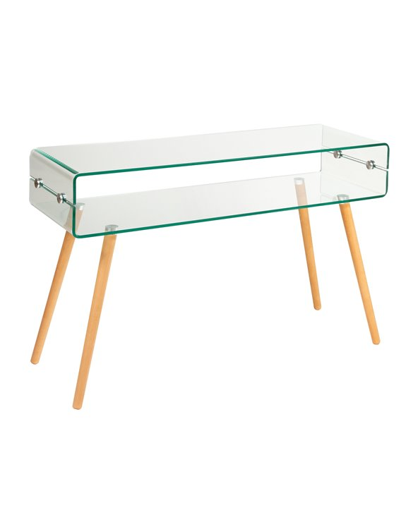 Glass console table BEACH