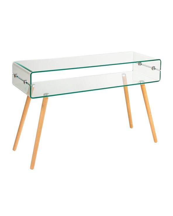 Table console en verre BEACH