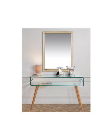 Glass console table BEACH