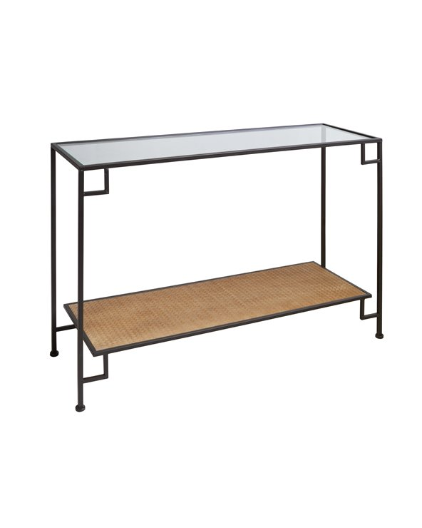 Table console industrielle