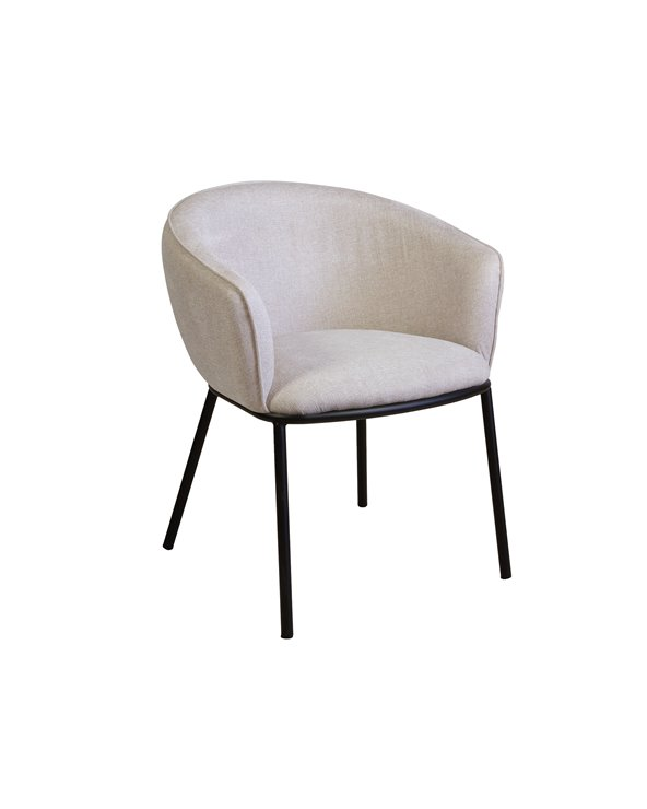 Cadira Duke beix