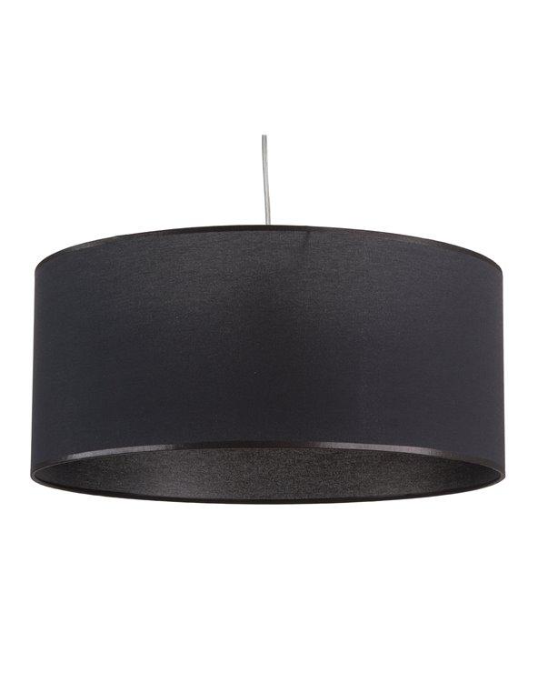 Llum de sostre negra