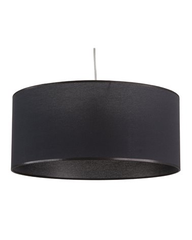 Lámpara de techo negra