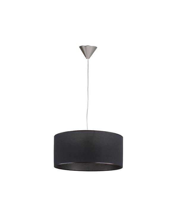 Lámpada de teito negra