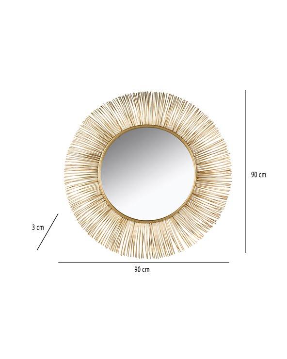 Miroir doré