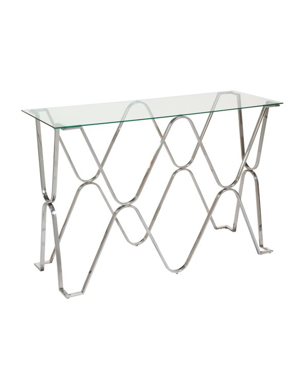 Hall furniture / Silver console