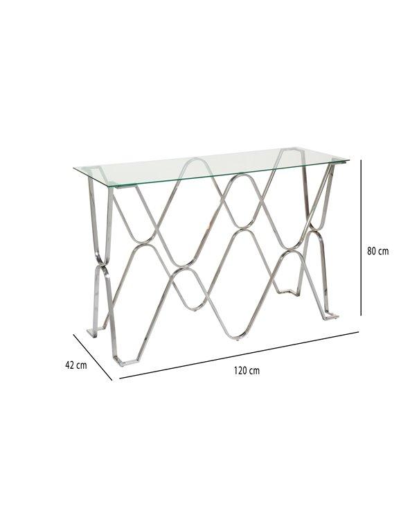 Hall furniture / Silver console