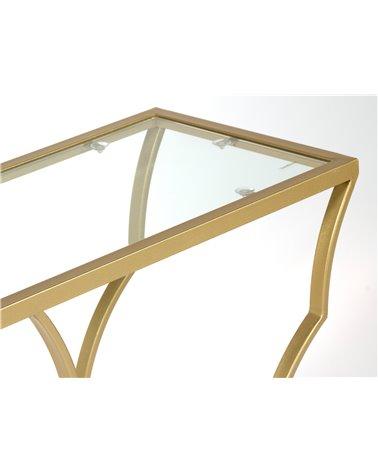 Moble recibidor / Consola dourado