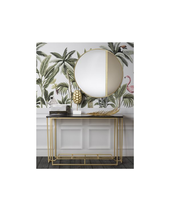 Hallway furniture / Golden console