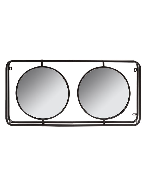 Miroir industriel double